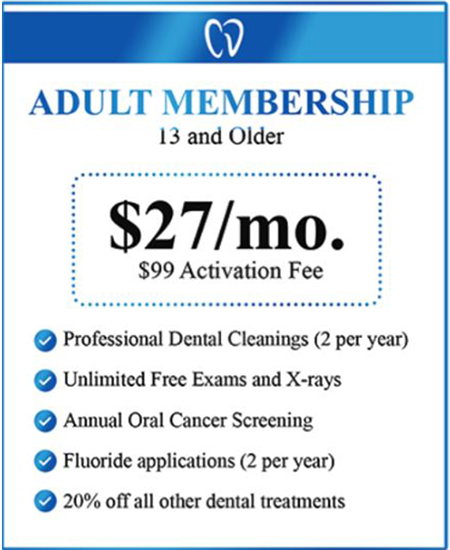 Dental Savings Program - No Insurance No Problem