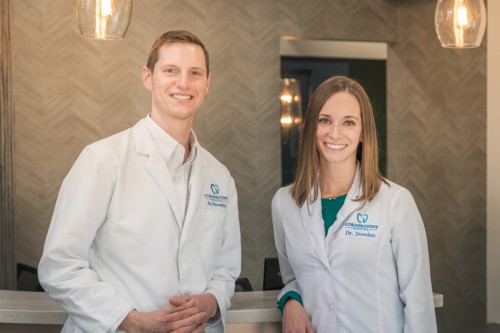 Meet Our Doctors: Ellie Dowden, DDS & Alex Peroutky, DDS